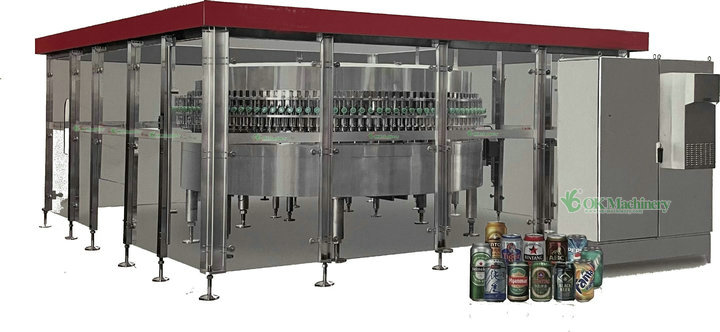 130 heads can filling machine