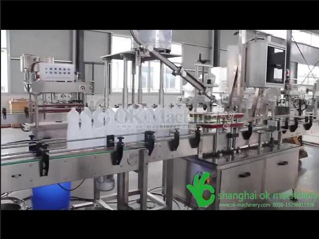 Good quality of disinfectant, detergent and shower gel & shampoo filling machine